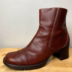 Timberland ALYSE Genuine Leather Heeled Ankle Boot